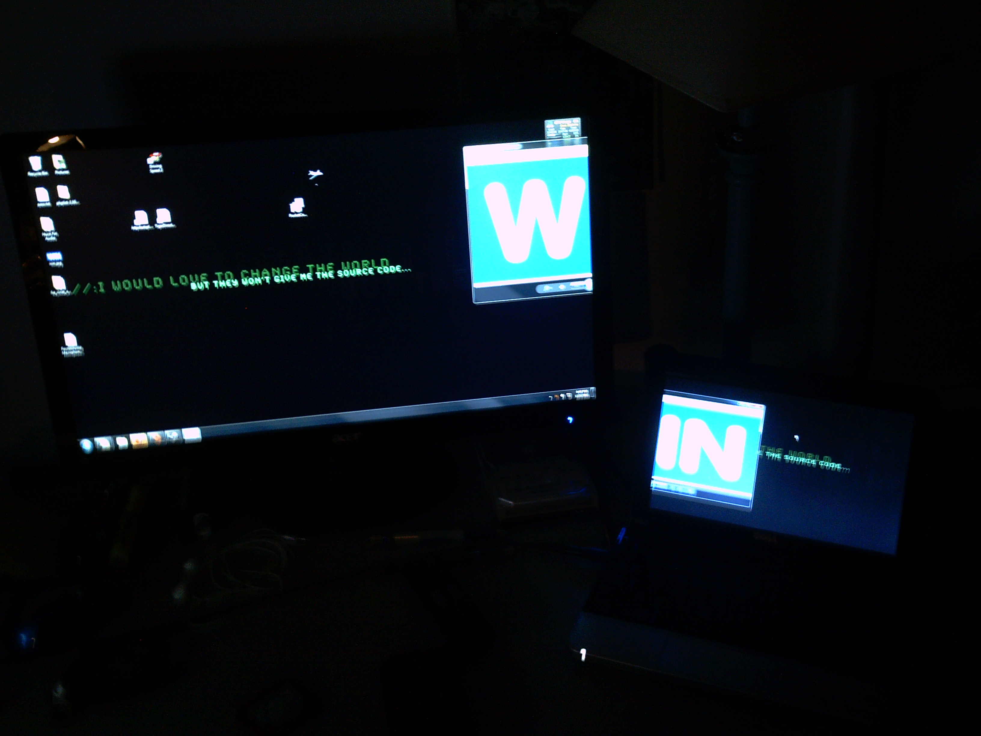 Laptop As Secondary Monitor
