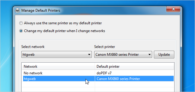 how to set network card priority in windows 7