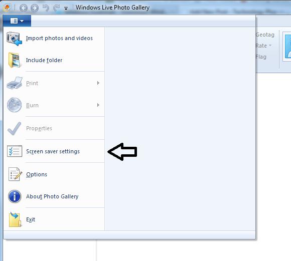 Screen Saver Settings Photo Gallery