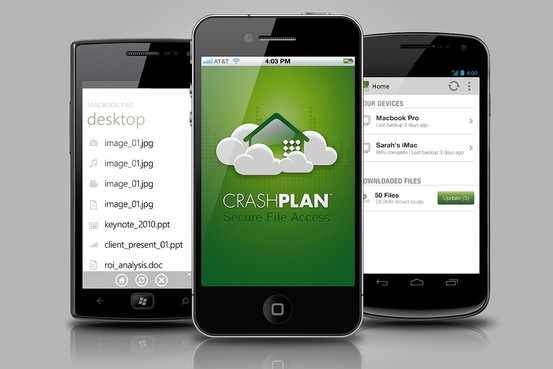 Crashplan Mobile